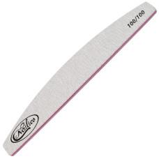 Пилка для ногтей. Широкая полукруг 100/100 Nailico