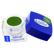 Гель-пластилин - 4D Gel Plastiline Nailico №06, 4г