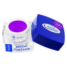 Гель-пластилин - 4D Gel Plastiline Nailico №09, 4г