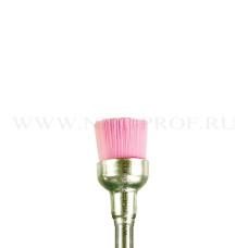 Щетка для шлифовки кожи и ногтей (Браш) розовая