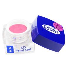 Гель-краска 3D Gel Nailico №12, 4г