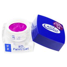 Гель-краска 3D Gel Nailico №16, 4г