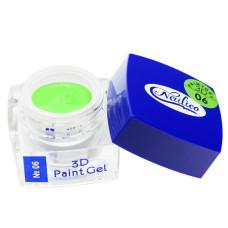Гель-краска 3D Gel Nailico №06, 4г