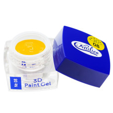 Гель-краска 3D Gel Nailico №08, 4г
