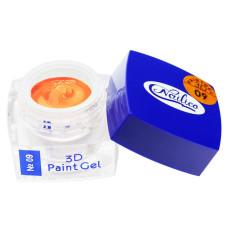 Гель-краска 3D Gel Nailico №09, 4г
