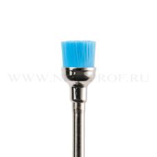 Щетка для шлифовки кожи и ногтей (Браш) голубая