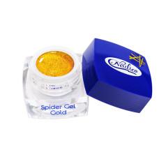 Гель-краска Spider Gel золотая 5г