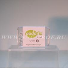 Пластины S Podofix ( пластины16мм, 8шт салфетки)