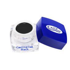 Гель- краска для литья и тонких линий. Casting Gel Nailico черная 5г
